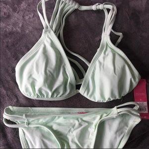 Bikini new with tags mint green
